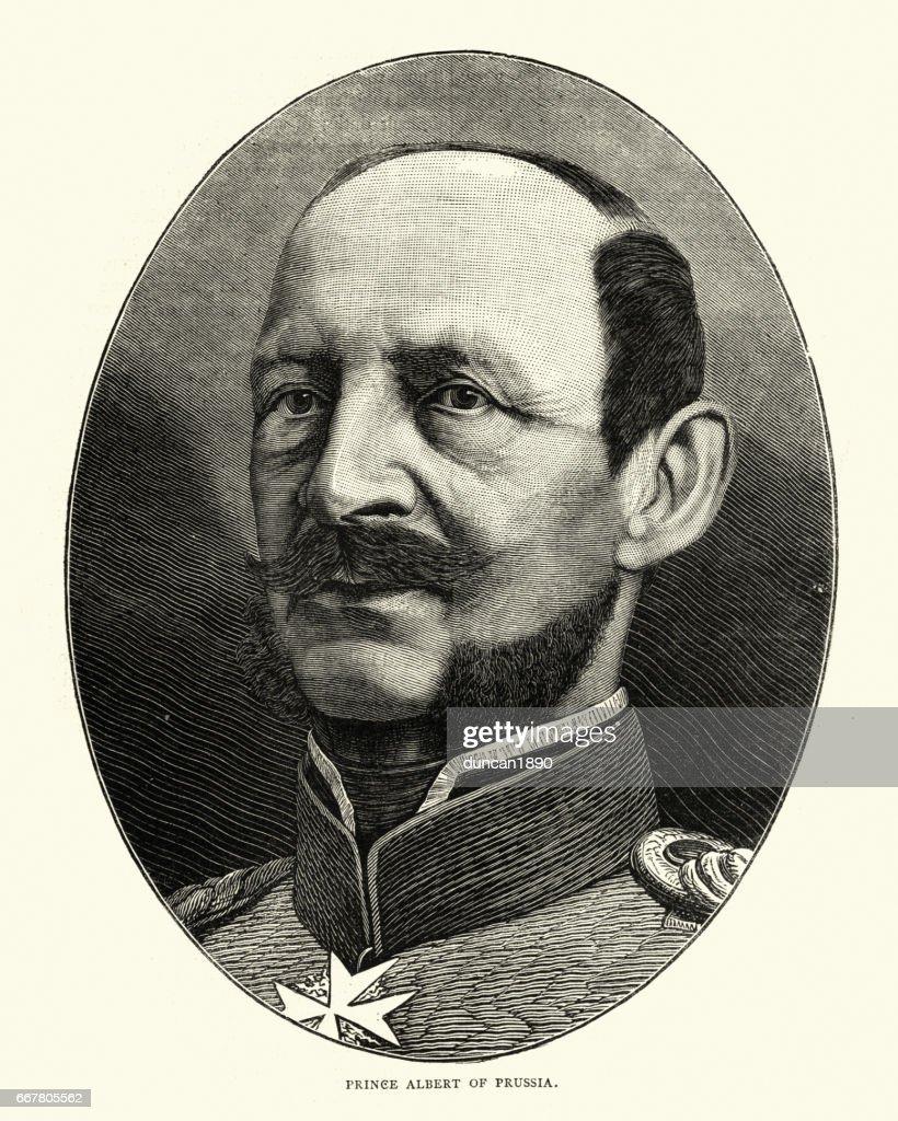 Príncipe Alberto da Prússia : Ilustração