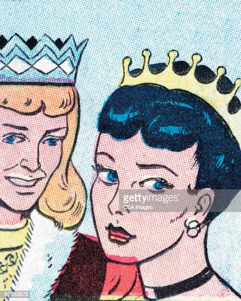 prince and princess - queen royal person stock illustrations, clip art, cartoons, & icons