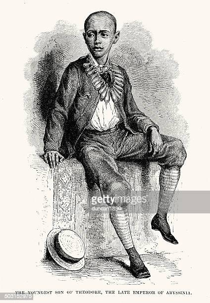 prince of abyssinia - ethiopia stock illustrations, clip art, cartoons, & icons
