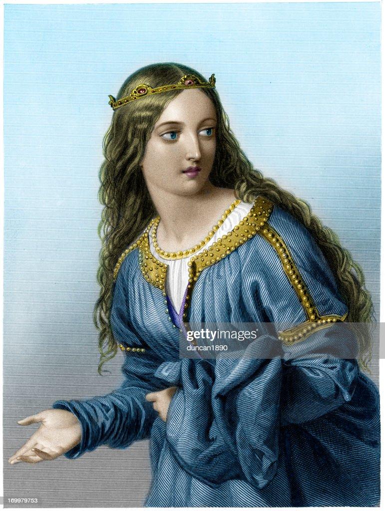 Princess Elfrida : stock illustration