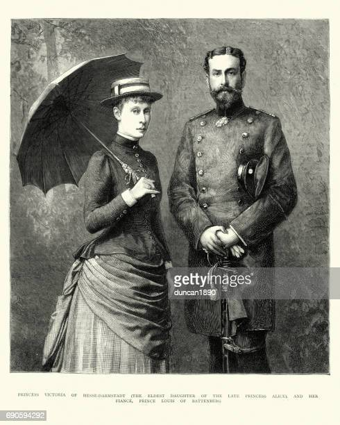 Princess Victoria of Hesse-Darmstadt and Prince Louis of Battenberg