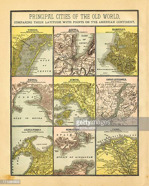 principal cities of the old world 1883