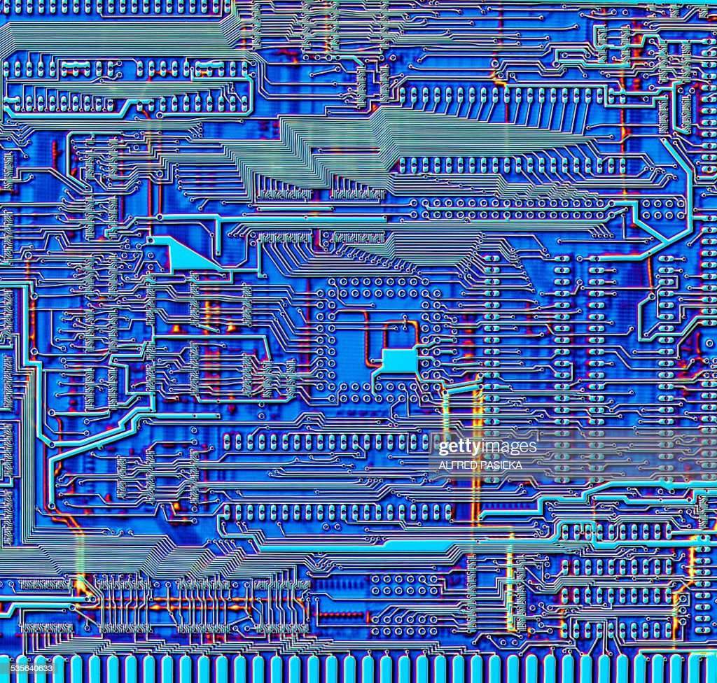 Printed Circuit Board Artwork Stock Illustration | Getty Images
