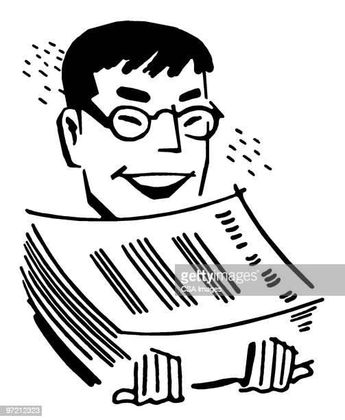 printer - report stock illustrations