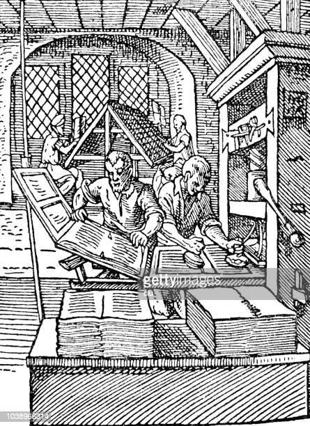 Printing house - 16th century