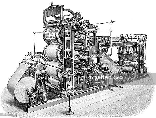 World's Best Printing Press Stock Illustrations - Getty Images