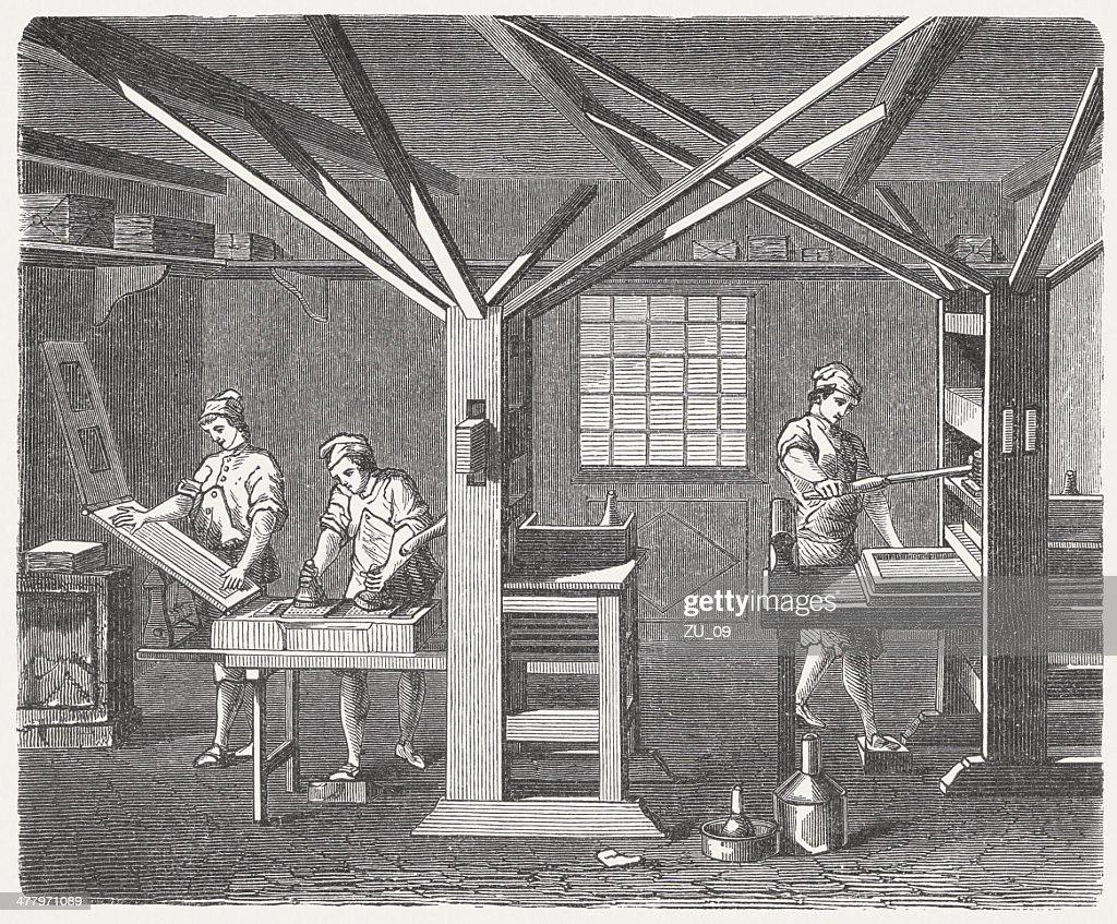 印刷オフィスでは1780 年に創刊 ...