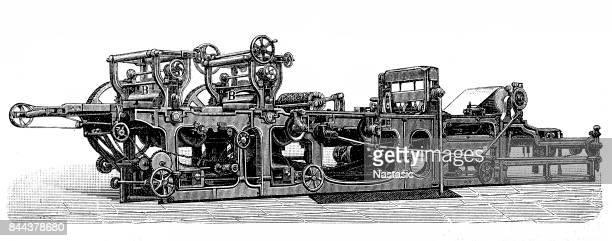 Printing press typography machine