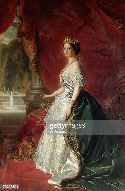 Portrait of Empress Eugenie of France