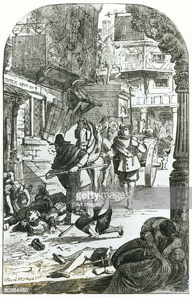 The Great Plague of London in 1665