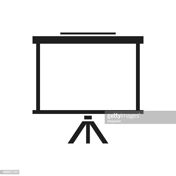 Projector Screen icon on a white background.