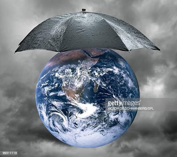 Protect the planet, conceptual artwork