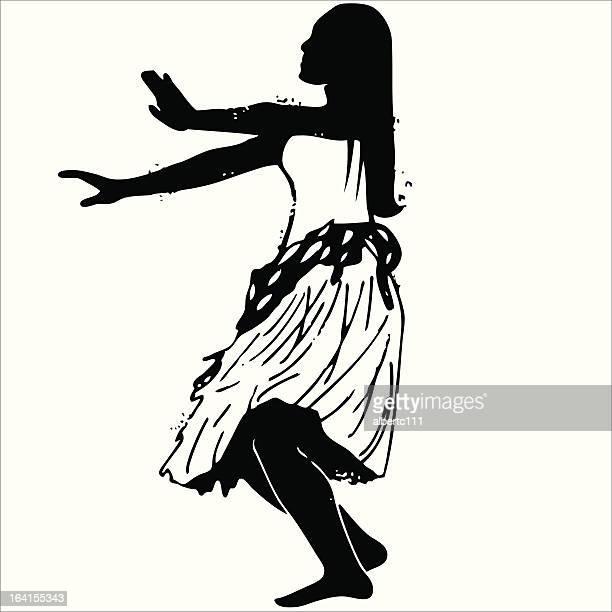 60点のフラダンスのイラスト素材クリップアート素材マンガ素材