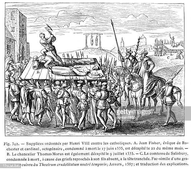 Punishments ordered by Henry VIII against Catholics