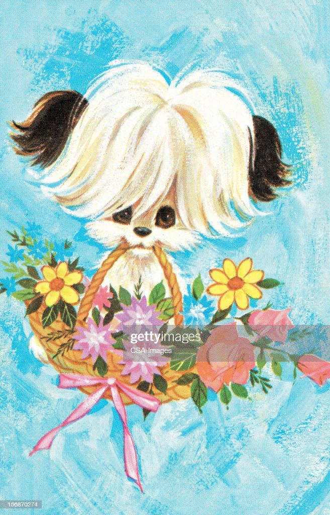 Puppy : stock illustration