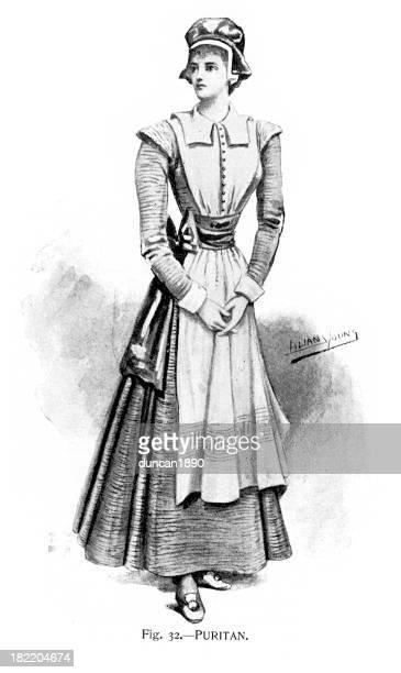 Puritan Costume - Victorian Fashion