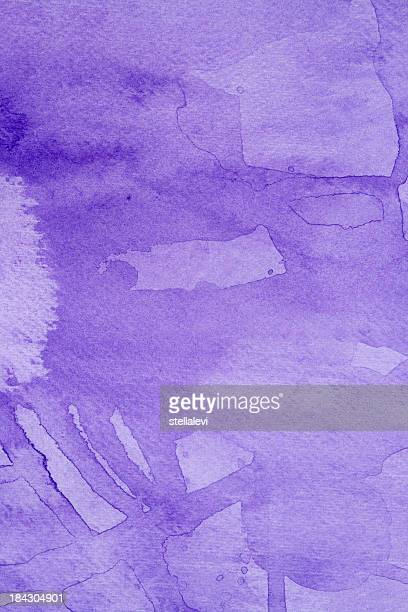 purple abstract watercolor background - purple background stock illustrations, clip art, cartoons, & icons