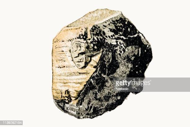 Pyrite stone