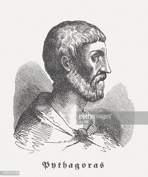 Pythagoras of Samos (c. 570 BC-after 510 BC), published 1864