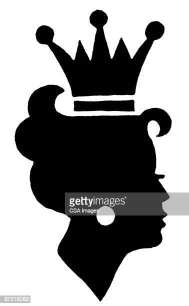 queen - ruler stock illustrations
