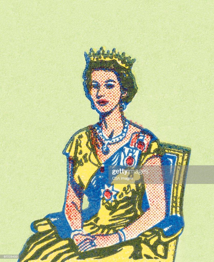 Queen : stock illustration