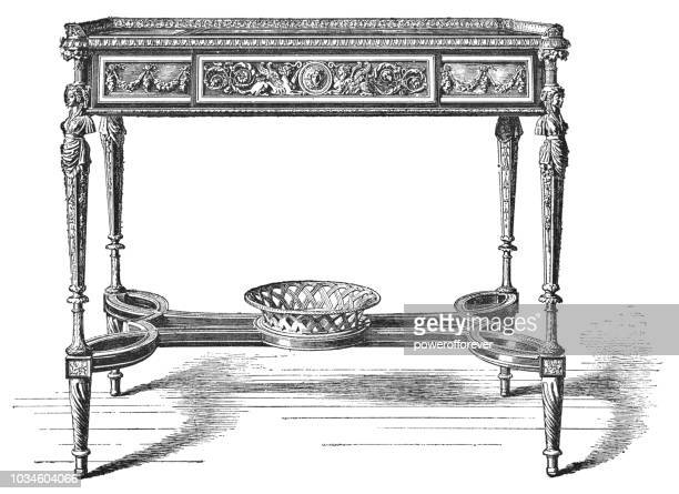 Queen Marie Antoinette's Writing Table (1785)