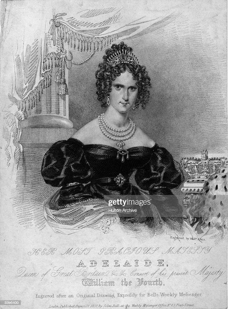 Queen Adelaide : News Photo