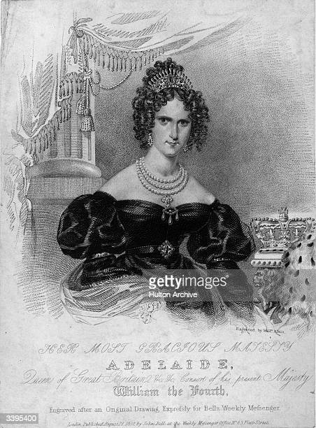 Queen of Great Britain and consort of William IV Adelaide