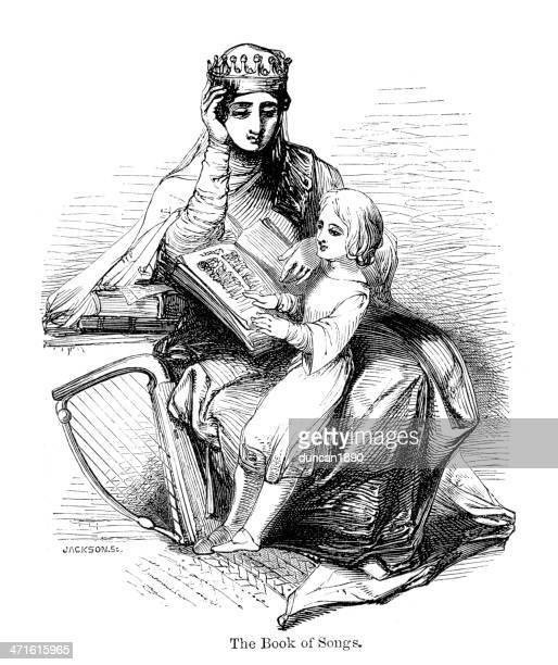 Rainha Osburh and Alfred de Wessex
