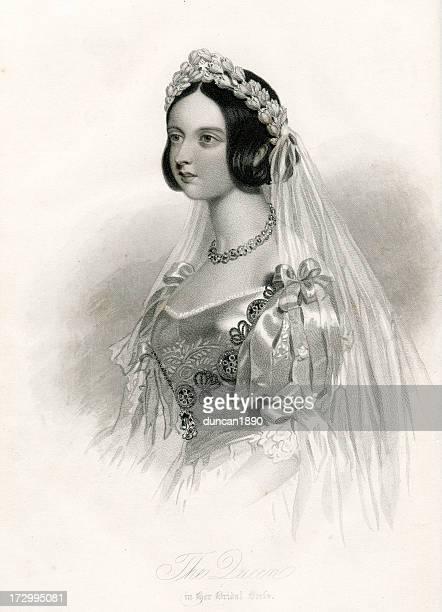 queen victoria - queen royal person stock illustrations, clip art, cartoons, & icons