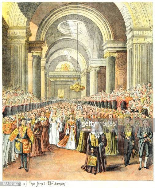 Queen Victoria's first State Opening of Parliament