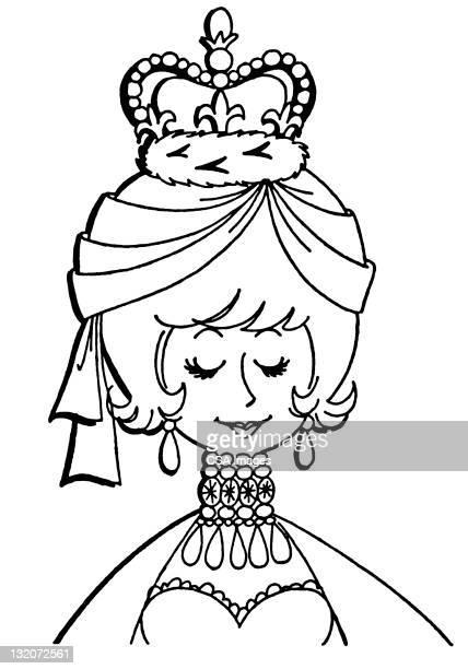 Uso corona con cama Queen