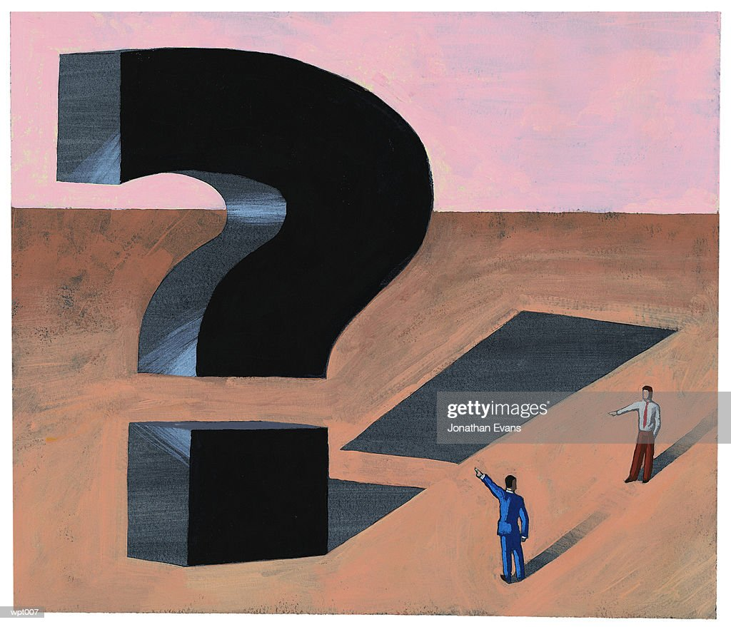 Question & Answer : Stock Illustration