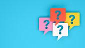 Question Mark on Speech Bubble