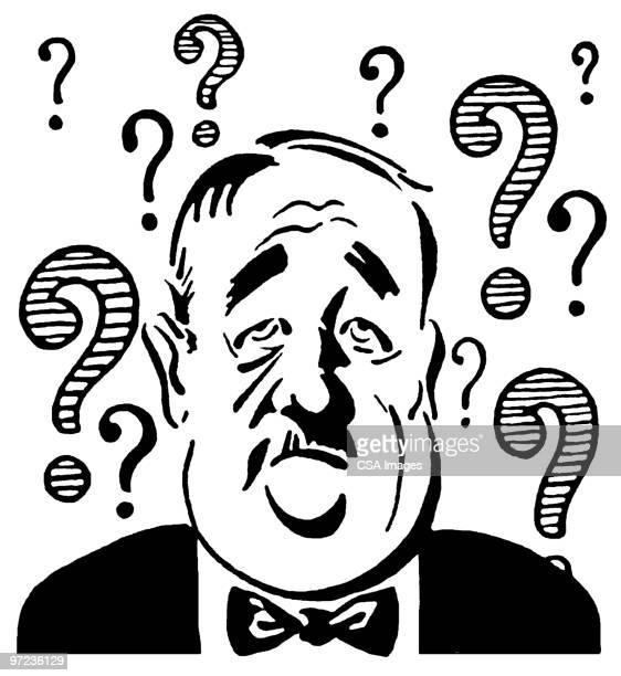 questions - surprise stock illustrations
