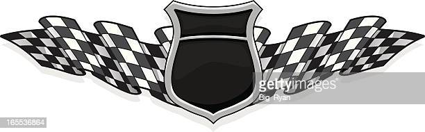 racer badge