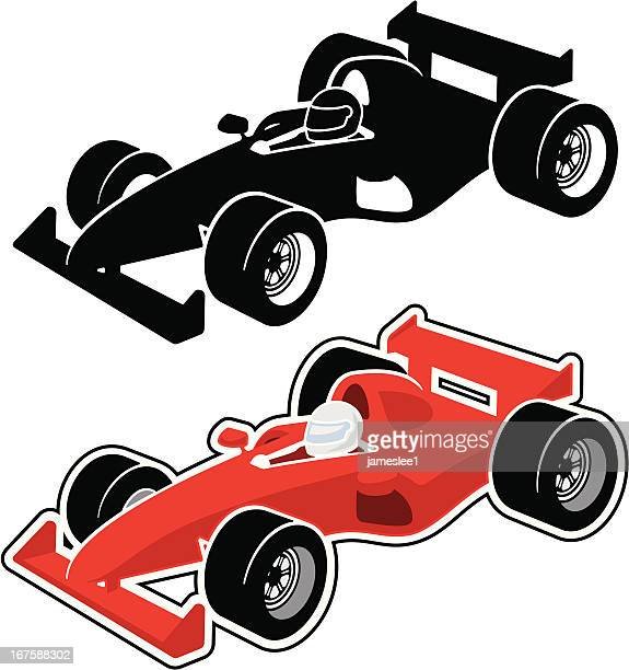 racing car - race car stock illustrations, clip art, cartoons, & icons