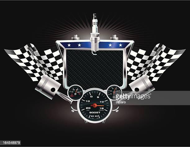 Racing Machine Emblem