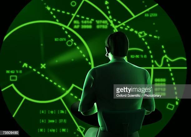 Radar Man, computer generated image