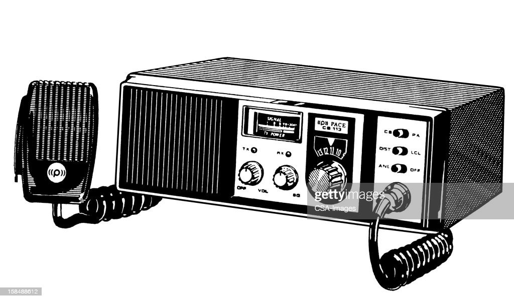 CB Radio : stock illustration