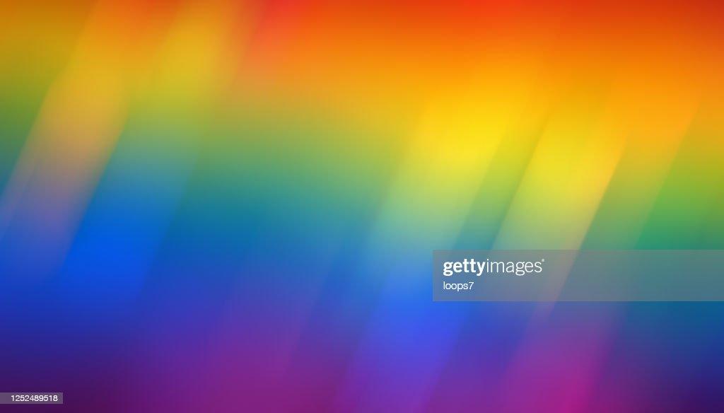 虹カラフルな背景 : ストックイラストレーション