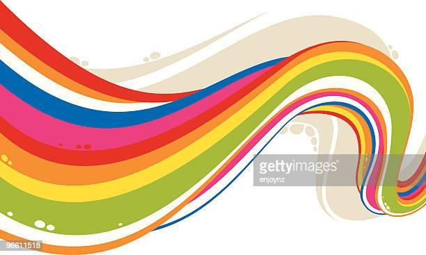 Regenbogen-Fluss