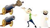 "Ramadan Icons: Cannons, Waiter, And ""Wake Up Man"""