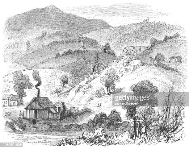 Rancho Las Mariposas in Mariposa County, California, USA (19th Century)