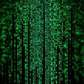 Random hexadecimal codes like matrix style.