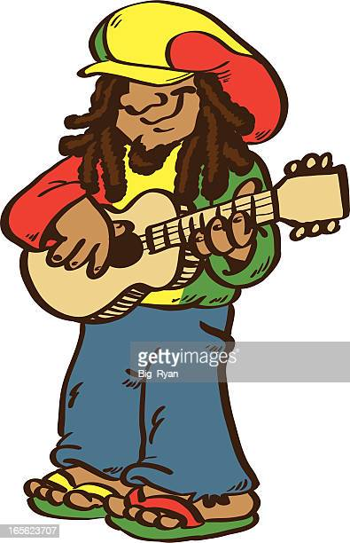 rasta - rastafarian stock illustrations, clip art, cartoons, & icons