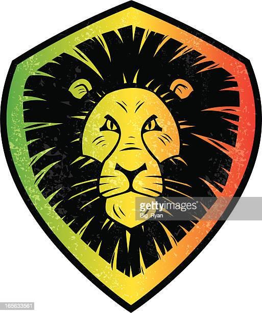 ilustrações de stock, clip art, desenhos animados e ícones de rasta leão - reggae