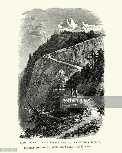 Rattlesnake Grade, Pavillon Mountain