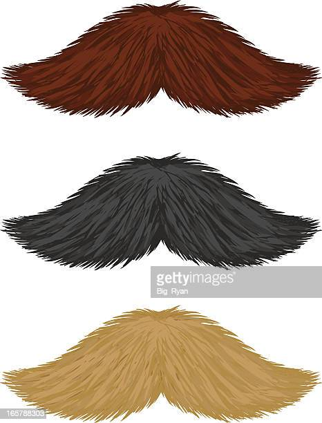 realistic mustaches