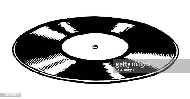 record - アナログレコード点のイラスト素材/クリップアート素材/マンガ素材/アイコン素材